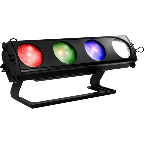 The PROLIGHTS ArenaCob IP65 LED Blinder Range feature a bright, custom LED source designed to replace a traditional tungsten blinder.