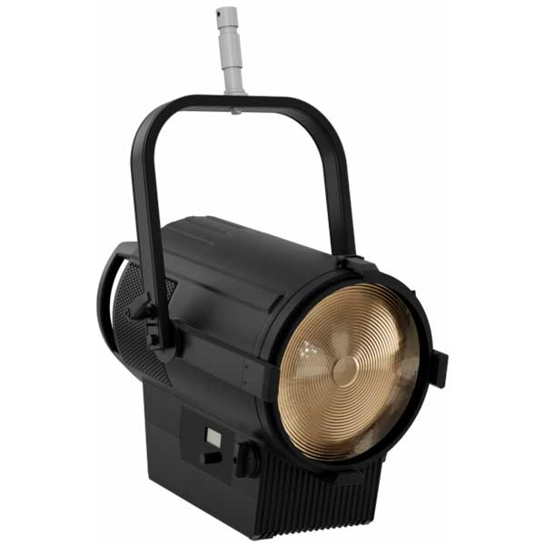 The PROLIGHTS ECLIPSE FRESNEL 2K range is an LED replacement for a standard 2K tungsten fresnel. Featuring the output characteristics of a traditional Fresnel luminaire with zoom, functional barn doors and an LED engine that focuses on outstanding colour rendition.