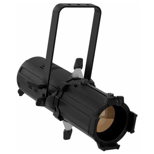 The PROLIGHTS EclProfile JrZIP is an IP65 rated ellipsoidal designed for exterior use. Featuring around 6,000 lumens of output in a compact form factor it is ideal for use on any outdoor show or event.