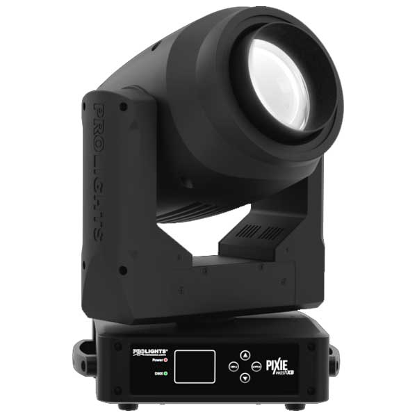 The PROLIGHTS Pixie WashXB is a single source LED moving washlight with an extensive zoom range. Featuring a proprietary RGB WW LED source, it offers both a powerful output as well as a high CRI for illuminating people and objects.