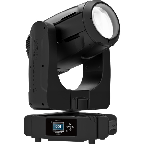 The PROLIGHTS PanoramaIP AirBeam IP65 Moving Beam Light is an incredibly powerful beam and searchlight, featuring CMY colour mixing and multiple prisms, for big impressive beam looks.